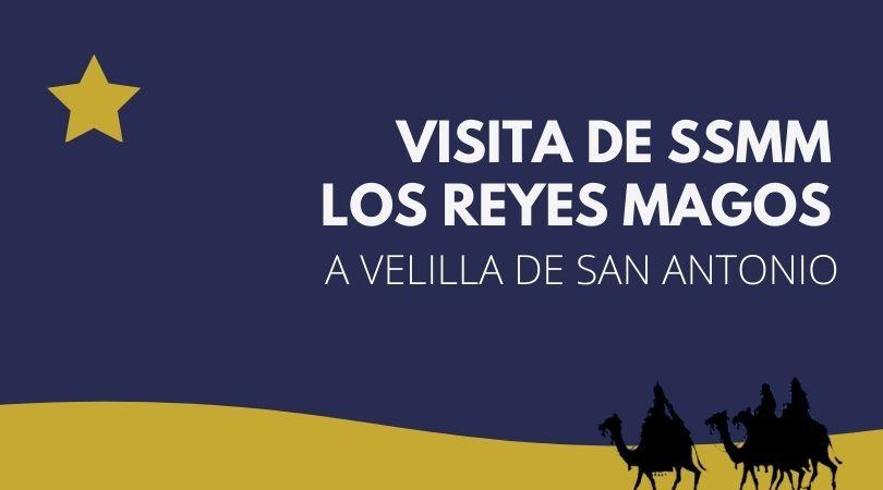 Visita de SSMM los Reyes Magos a Velilla de San Antonio