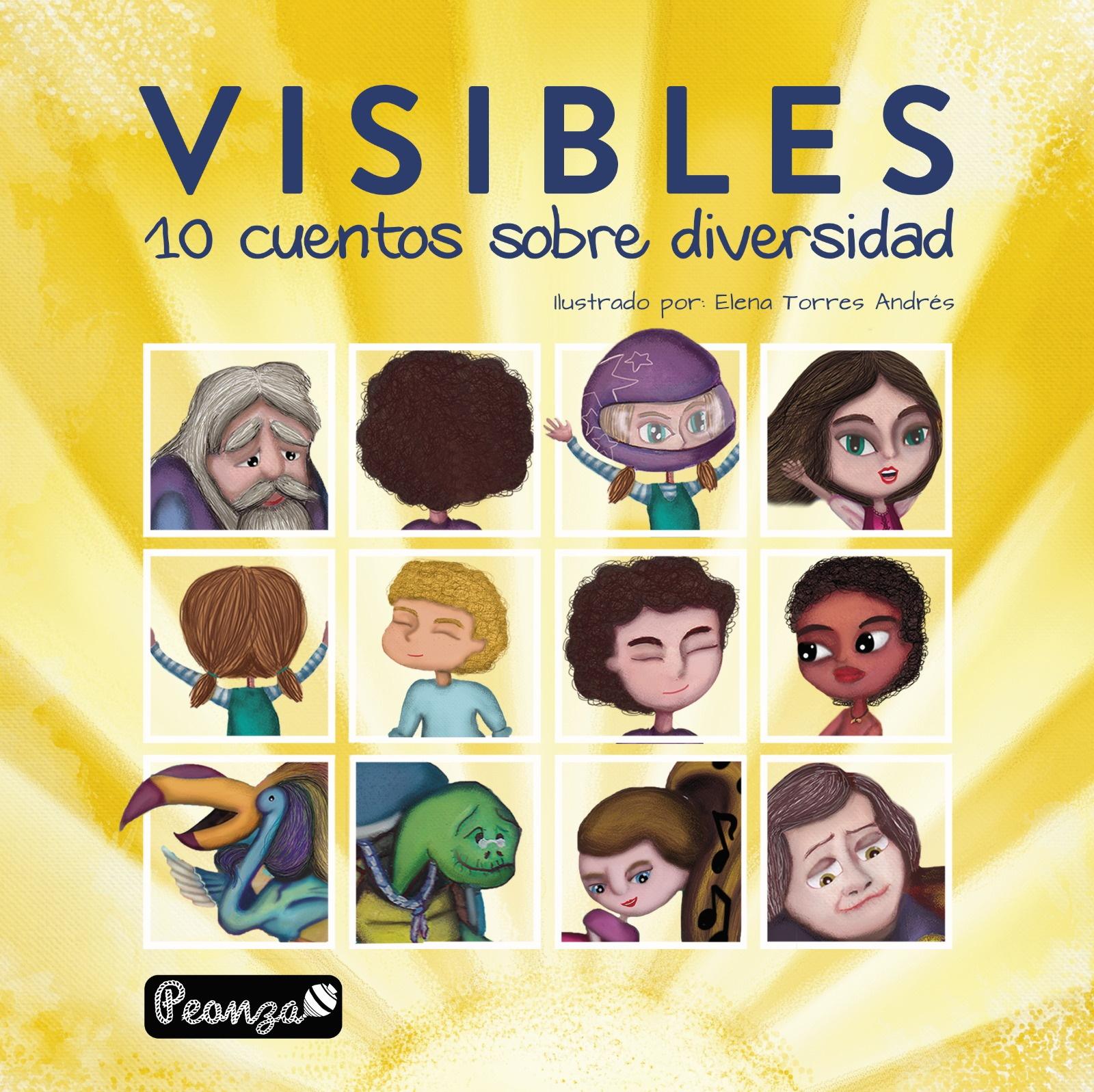 """Presentación y cuentacuentos de """"V I S I B L E S. 10 cuentos sobre diversidad"""""""