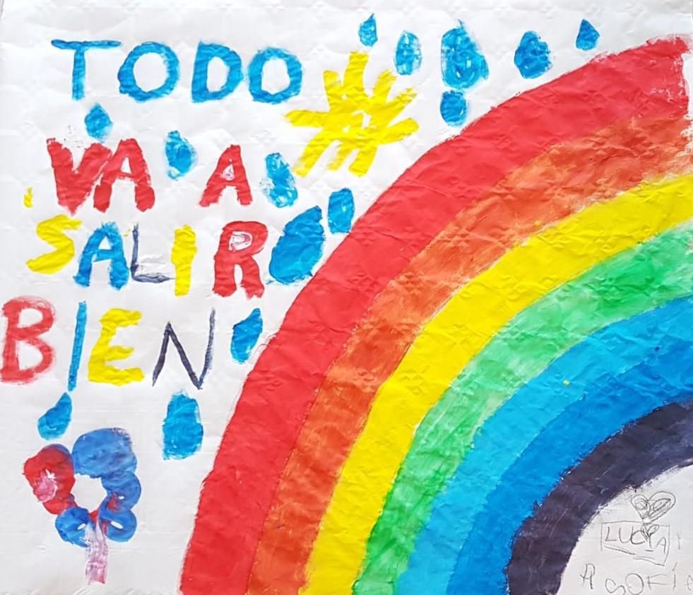 🌈Vamos a llenar Velilla de arcoíris y de optimismo!