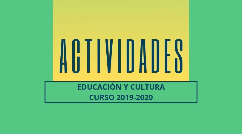 Del 9 al 19 de septiembre, periodo de inscripción en las actividades de las concejalías de Educación y Cultura
