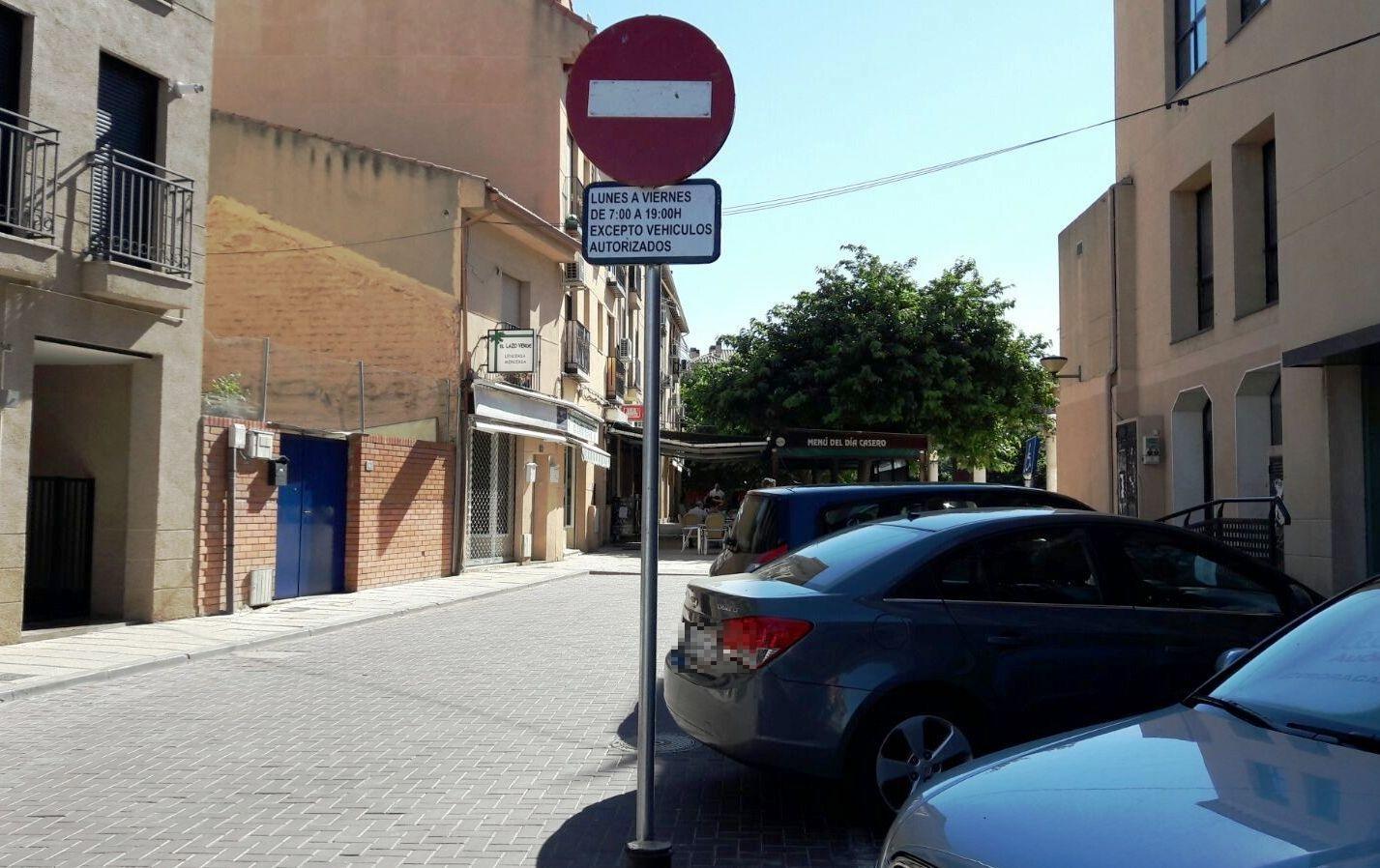 Mejoras en el aparcamiento de la calle Miguel Hernández