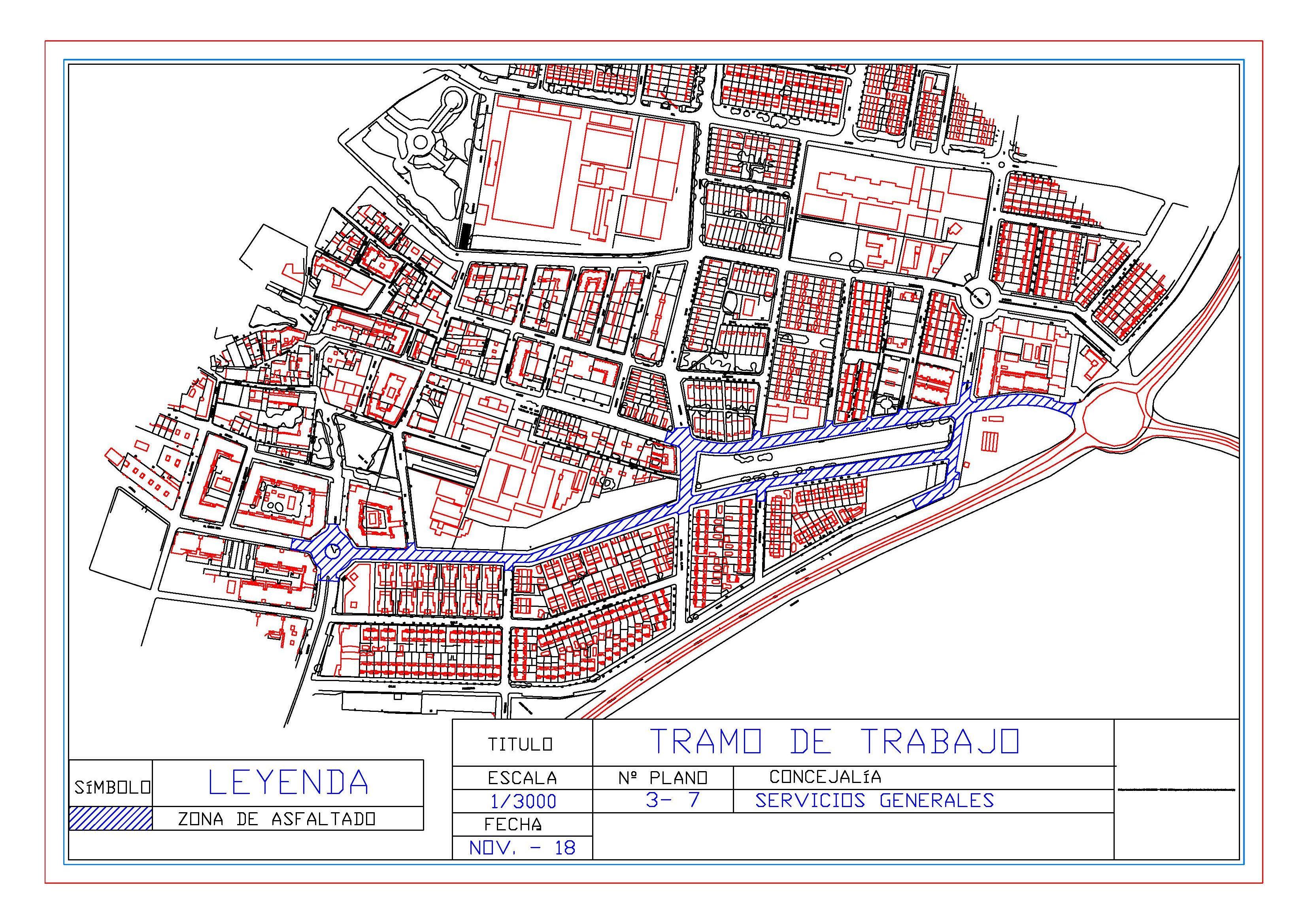 Esta semana comenzará la segunda fase de la operación municipal de asfalto