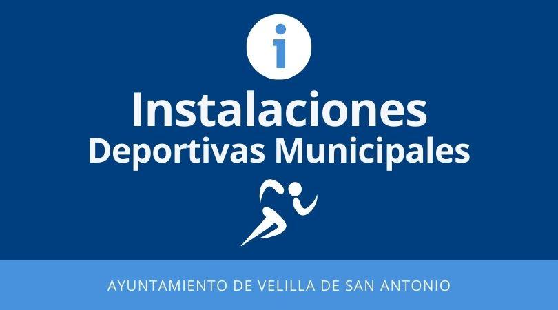 Aviso horario instalaciones deportivas municipales del 16 al 20 de agosto