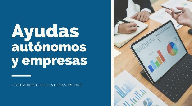 El 13 de septiembre se abre el plazo para la solicitud de las ayudas económicas municipales a autónomos y empresas