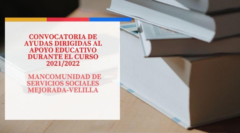 Ayudas para el apoyo educativo de Servicios Sociales