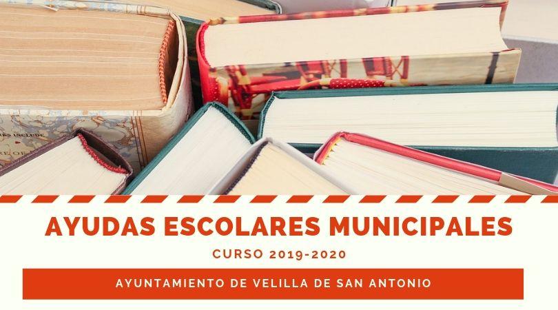 Abierto el plazo de solicitud de las ayudas escolares municipales para el curso 2019-2020