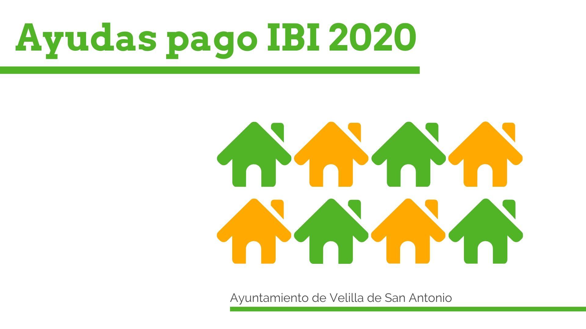 El 13 de enero comienza el plazo para solicitar las Ayudas para el Pago del IBI 2020