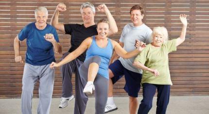 Taller de bailoterapia para mayores