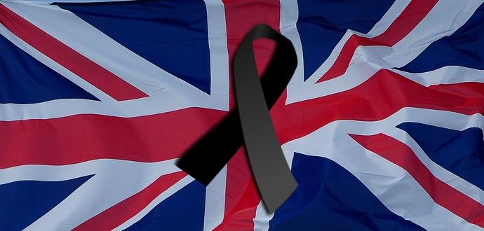 Minuto de silencio, condena del atentado de Londres