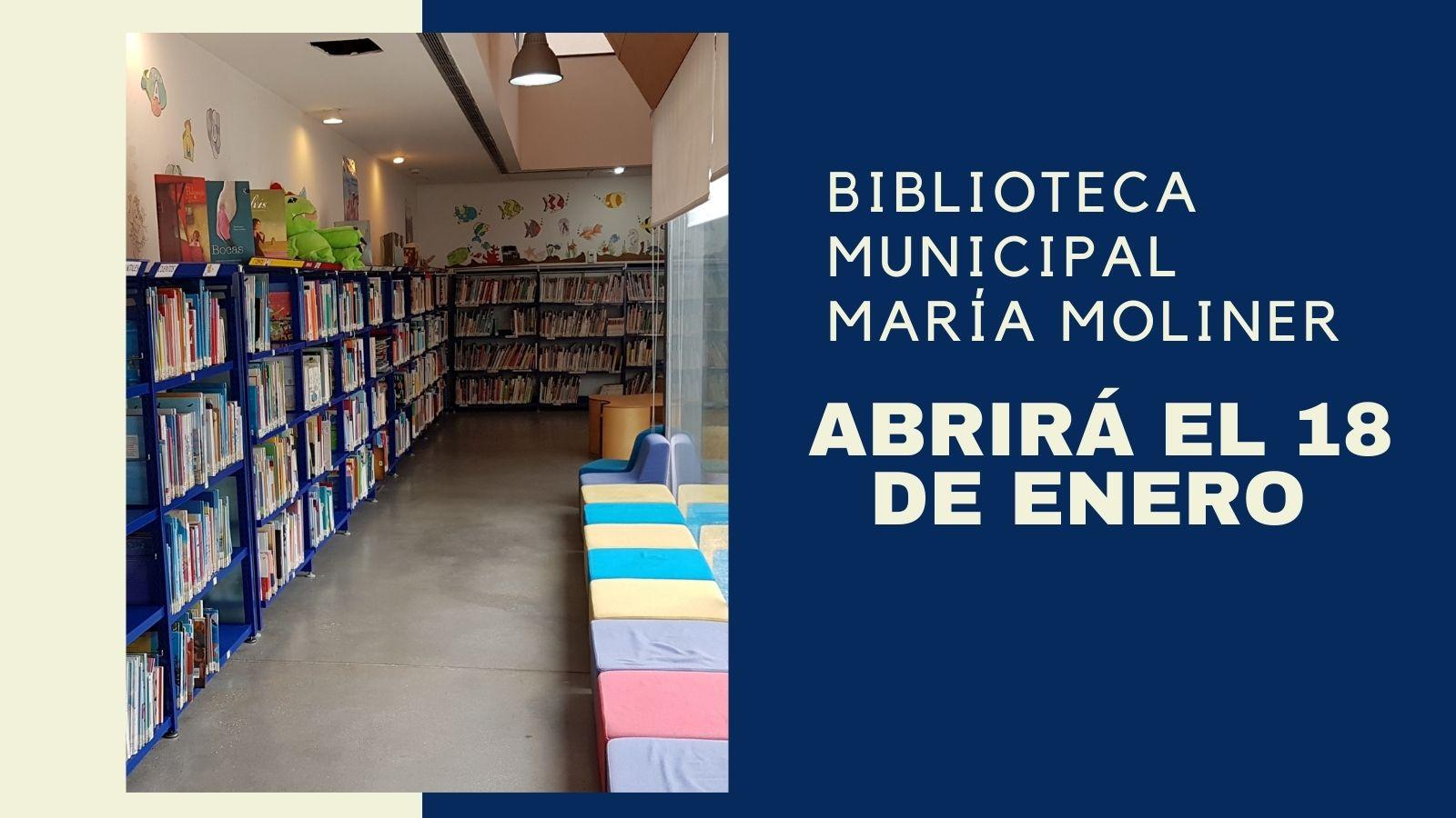 Biblioteca abrirá el proximo 18 de enero