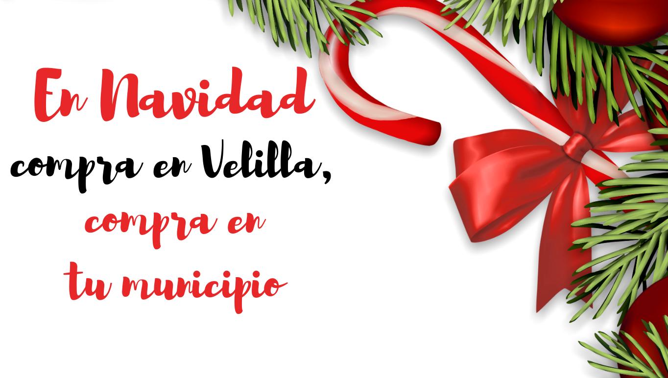 """En Navidad, """"Compra en Velilla, compra en tu municipio"""""""