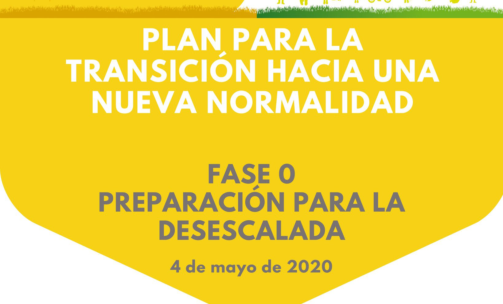 Medidas Fase 0, Preparación para la Desescalada, a partir del 4 de mayo 2020