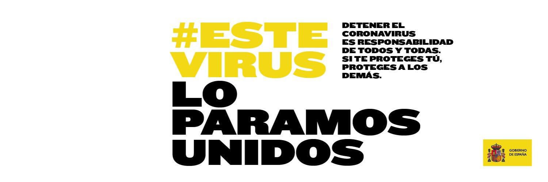 banner este virus lo paramos unidos