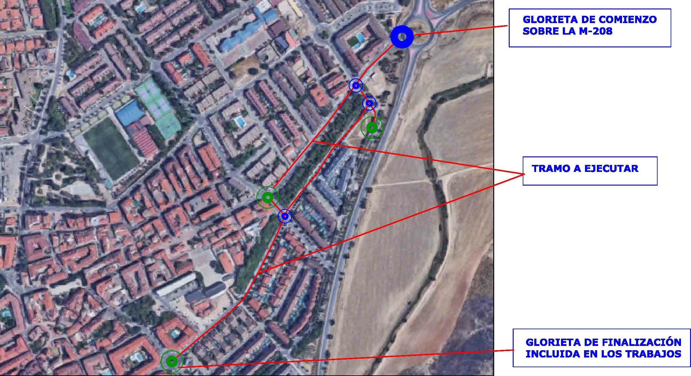 Segunda fase de la operación municipal asfalto en Velilla