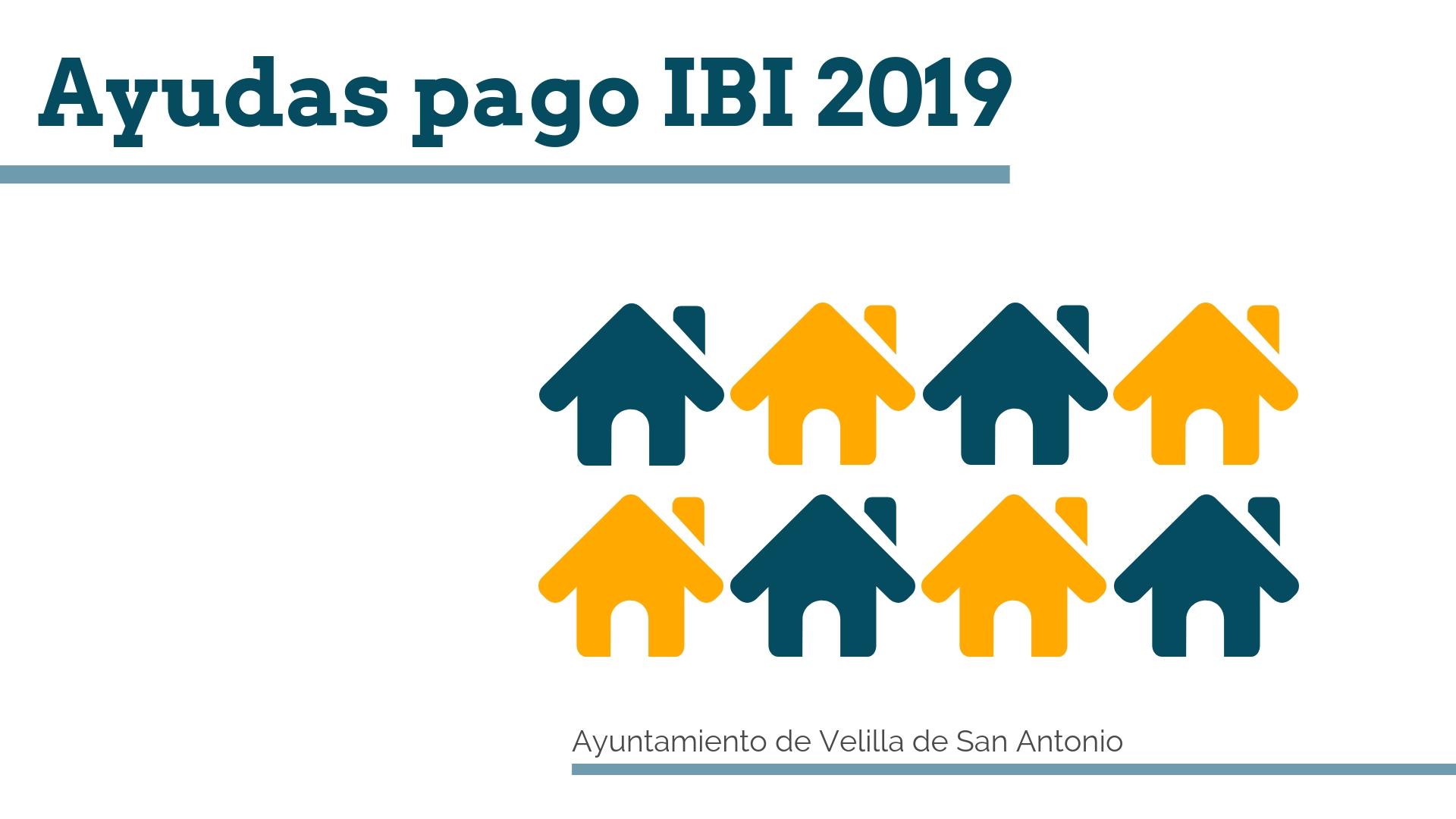 El 22 de diciembre comienza el plazo para solicitar las ayudas para el pago del ibi 2019