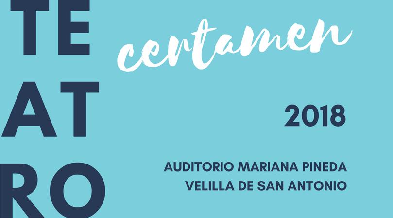 Del 28 de octubre al 30 de noviembre se celebrará el XVI Certamen de Teatro