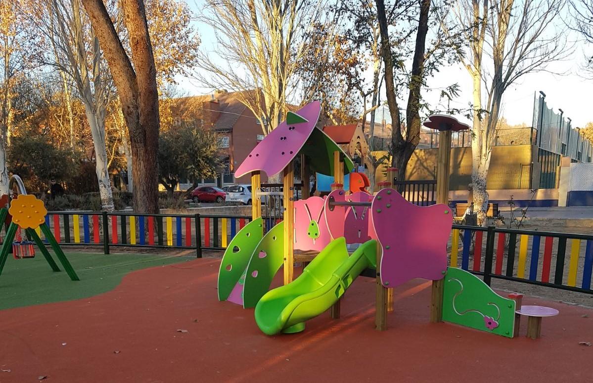 Inauguración del parque Catalina Muñoz