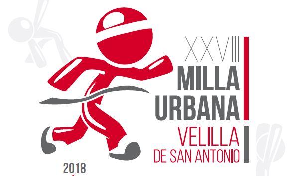 Ya están abiertas las inscripciones para la XXVIII Milla Urbana Velilla 2018