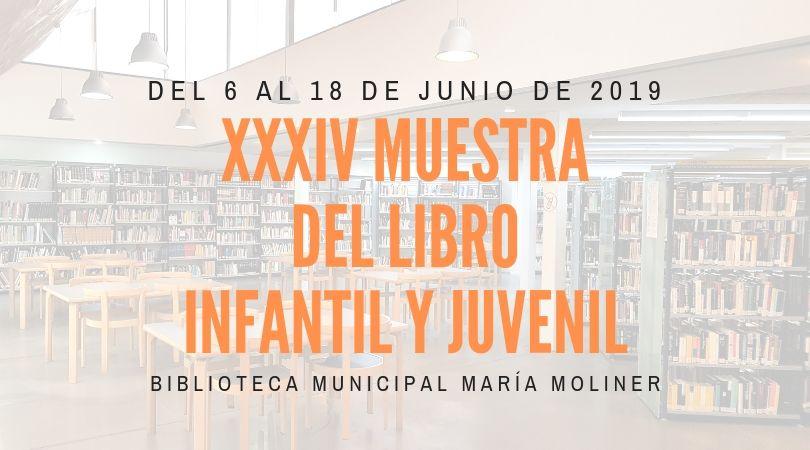 La XXXIV Muestra del Libro Infantil y Juvenil, del 6 al 18 de junio en la biblioteca de Velilla