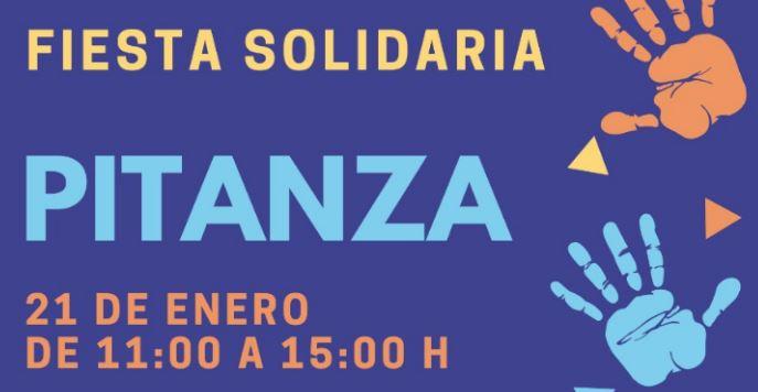 El día 21 de enero se celebrará la Fiesta Solidaria de la Pitanza