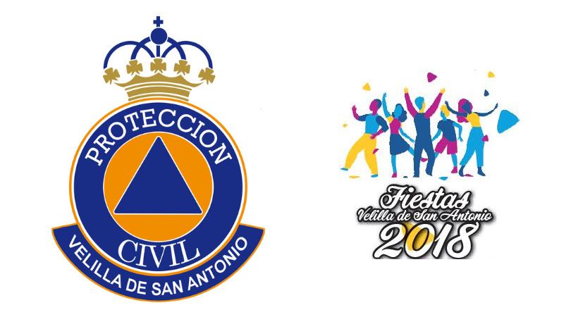 Protección Civil repartirá pulseras identificativas para los menores durante las Fiestas Patronales