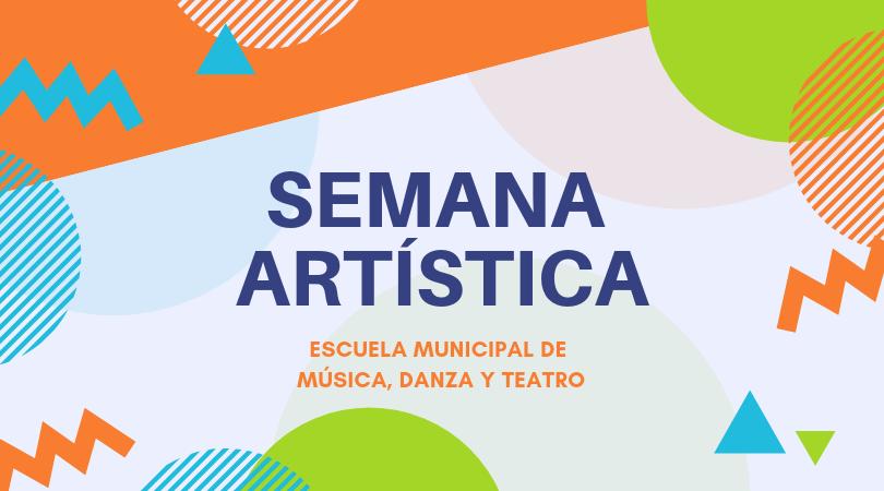 Del 18 al 24 de marzo se celebrará la Semana Artística de la Escuela Municipal de Música, Danza y Teatro
