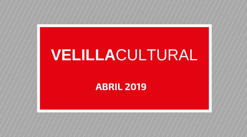 Programación Velilla Cultural abril 2019
