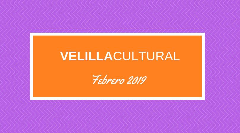 Programación Velilla Cultural febrero 2019