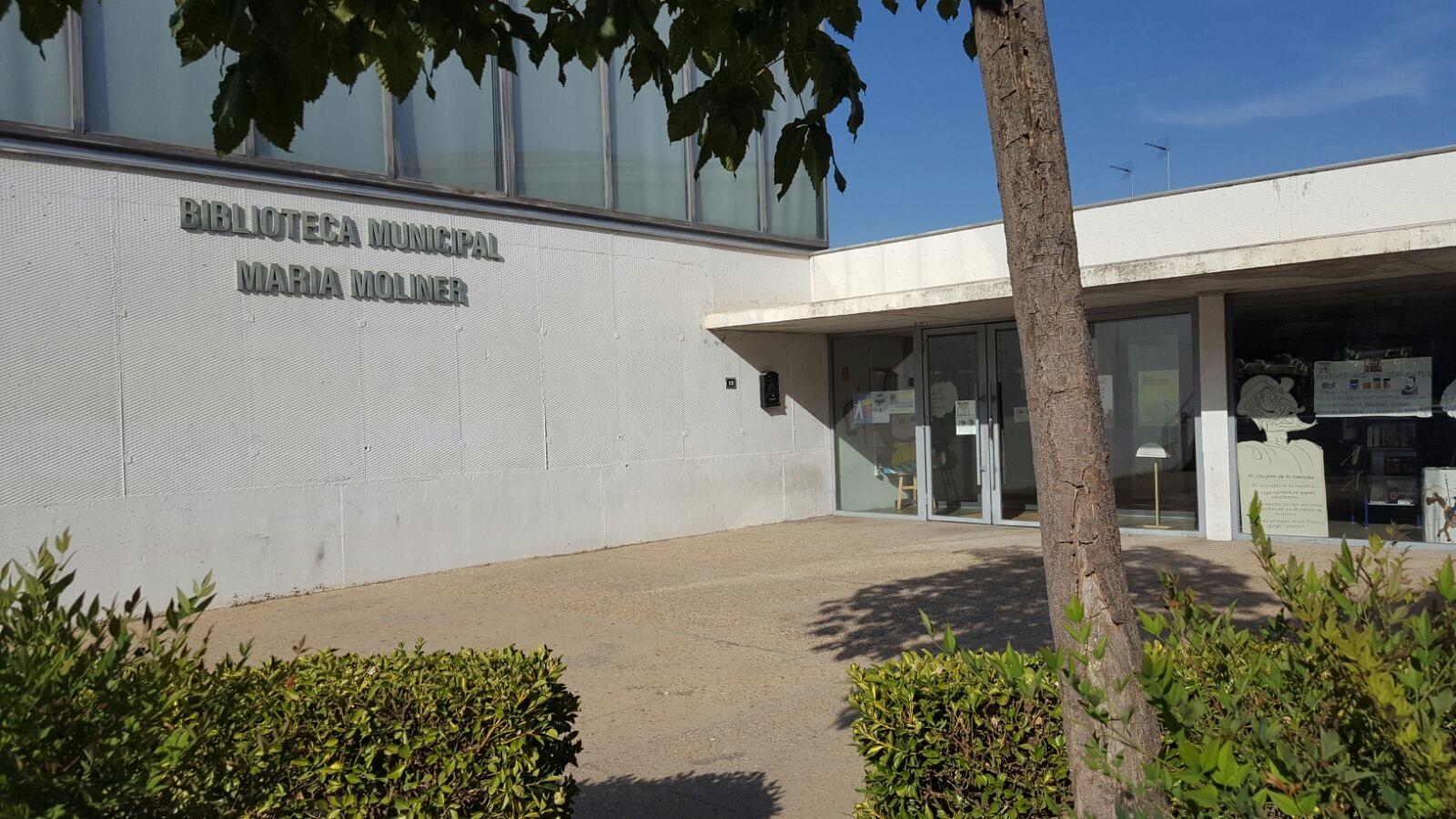 Horario de verano de la Biblioteca Municipal María Moliner