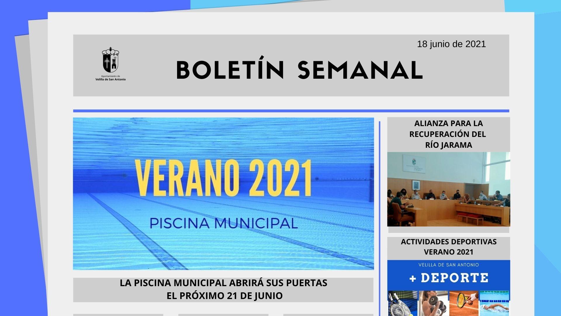 Boletín Semanal 23/2021