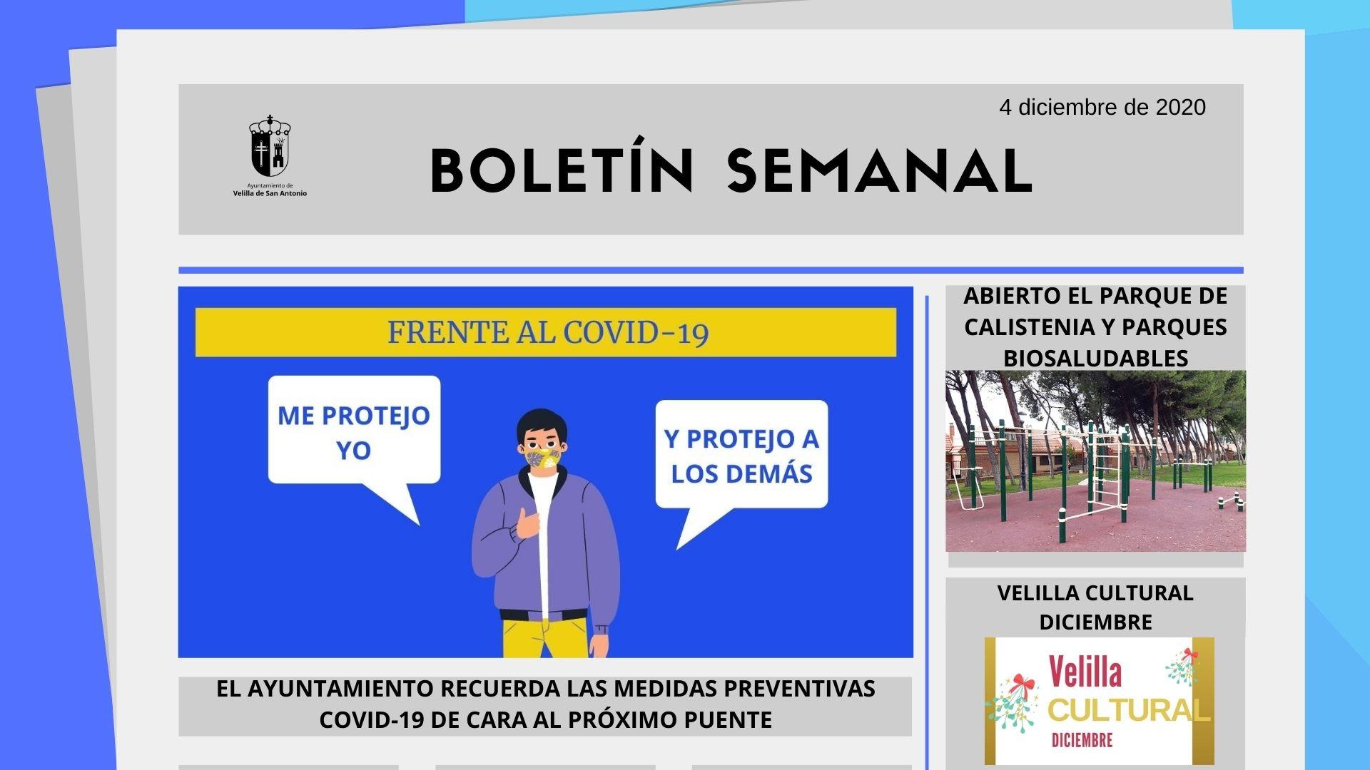 Boletín Semanal 49/2020