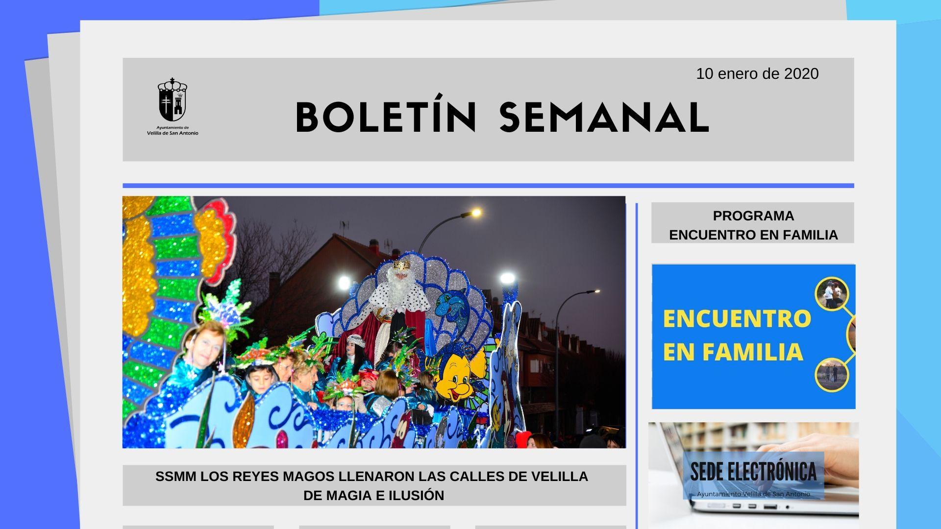Boletín Semanal 2/2020