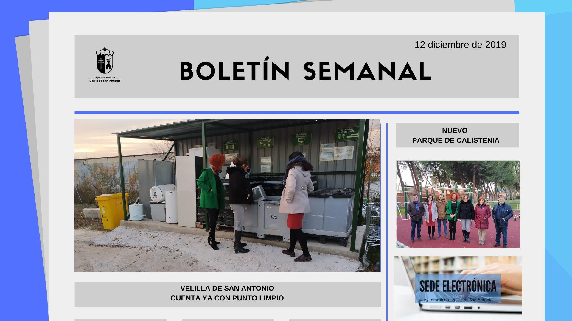 Boletín Semanal 41/2019