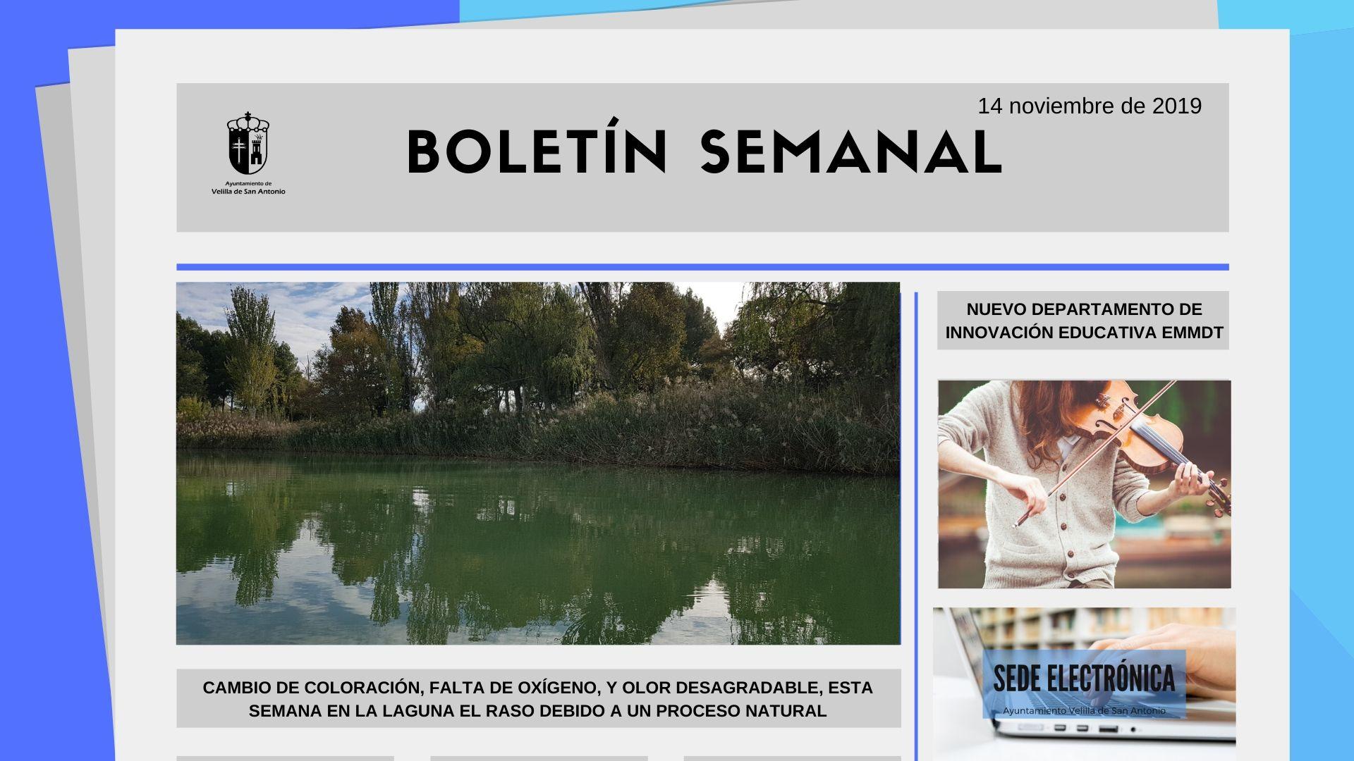 Boletín Semanal 37/2019
