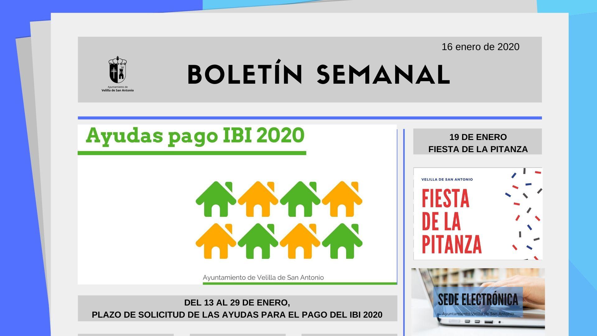 Boletín Semanal 3/2020