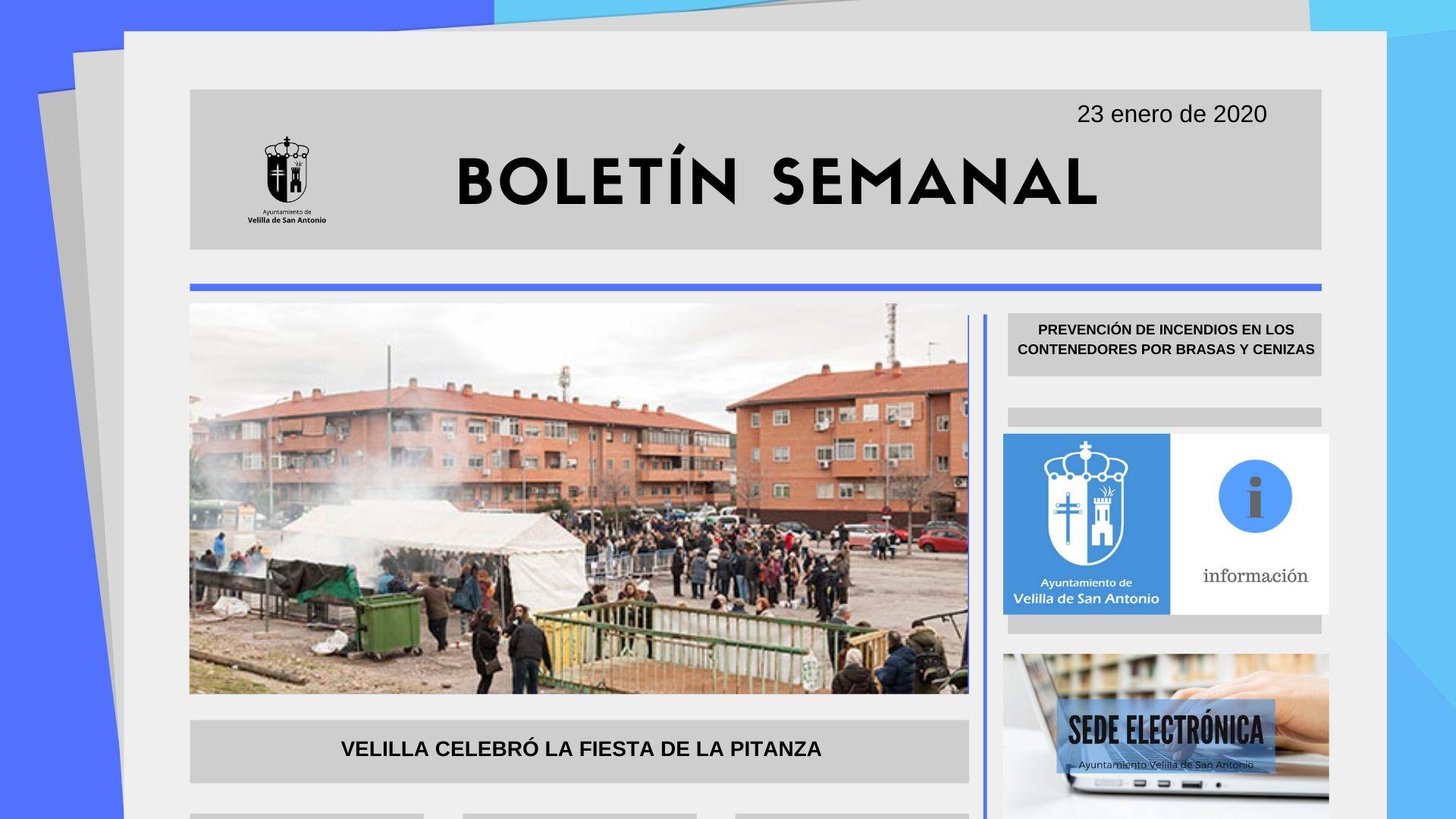 Boletín Semanal 4/2020