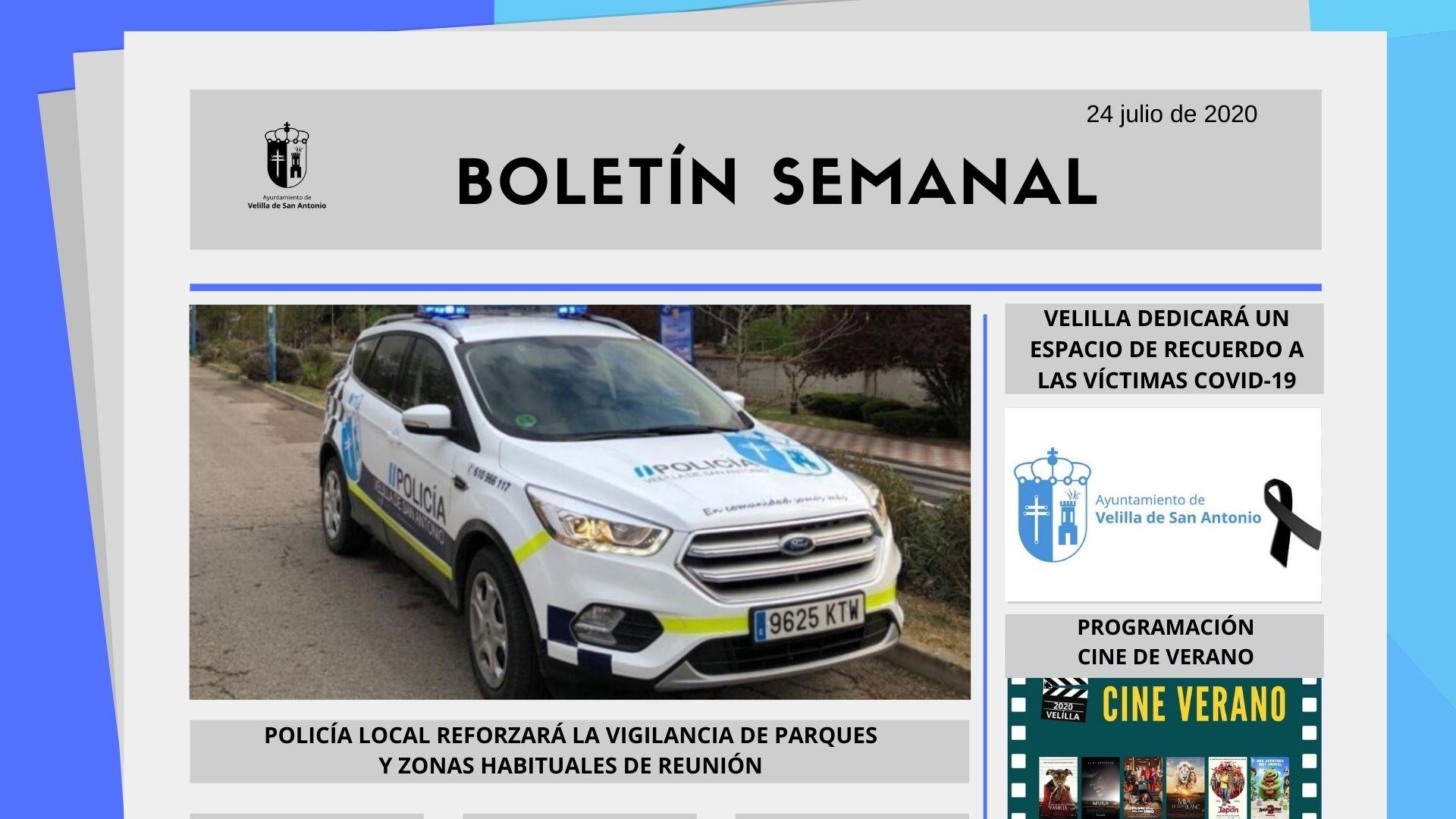 Boletín Semanal 30/2020