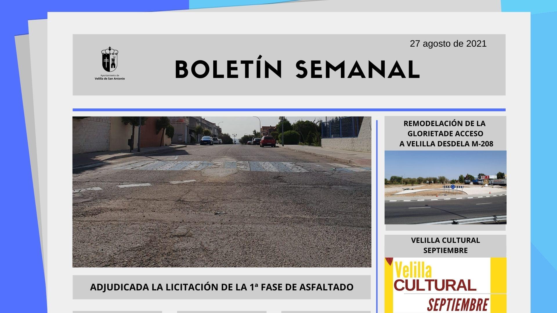 Boletín Semanal 33/2021