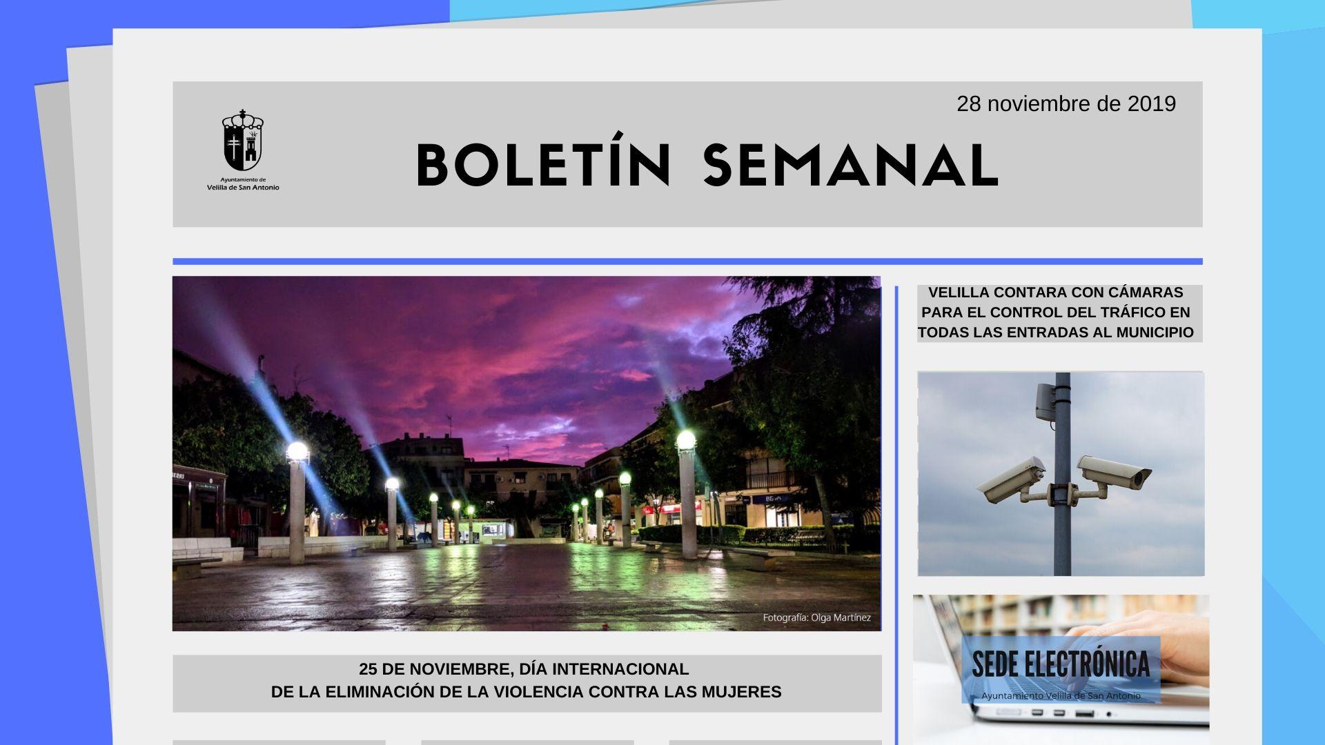 Boletín Semanal 39/2019