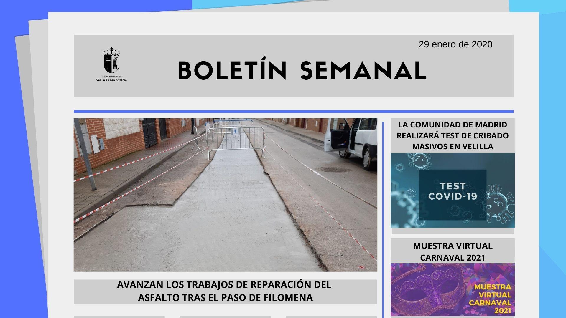 Boletín Semanal 4/2021