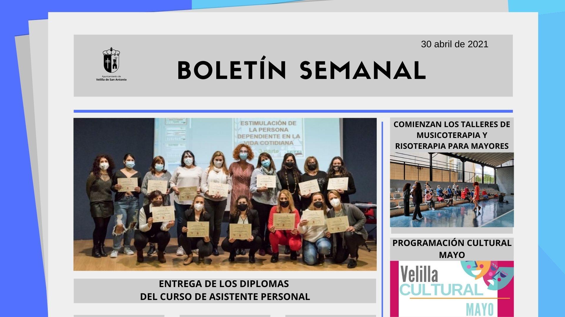 Boletín Semanal 16/2021