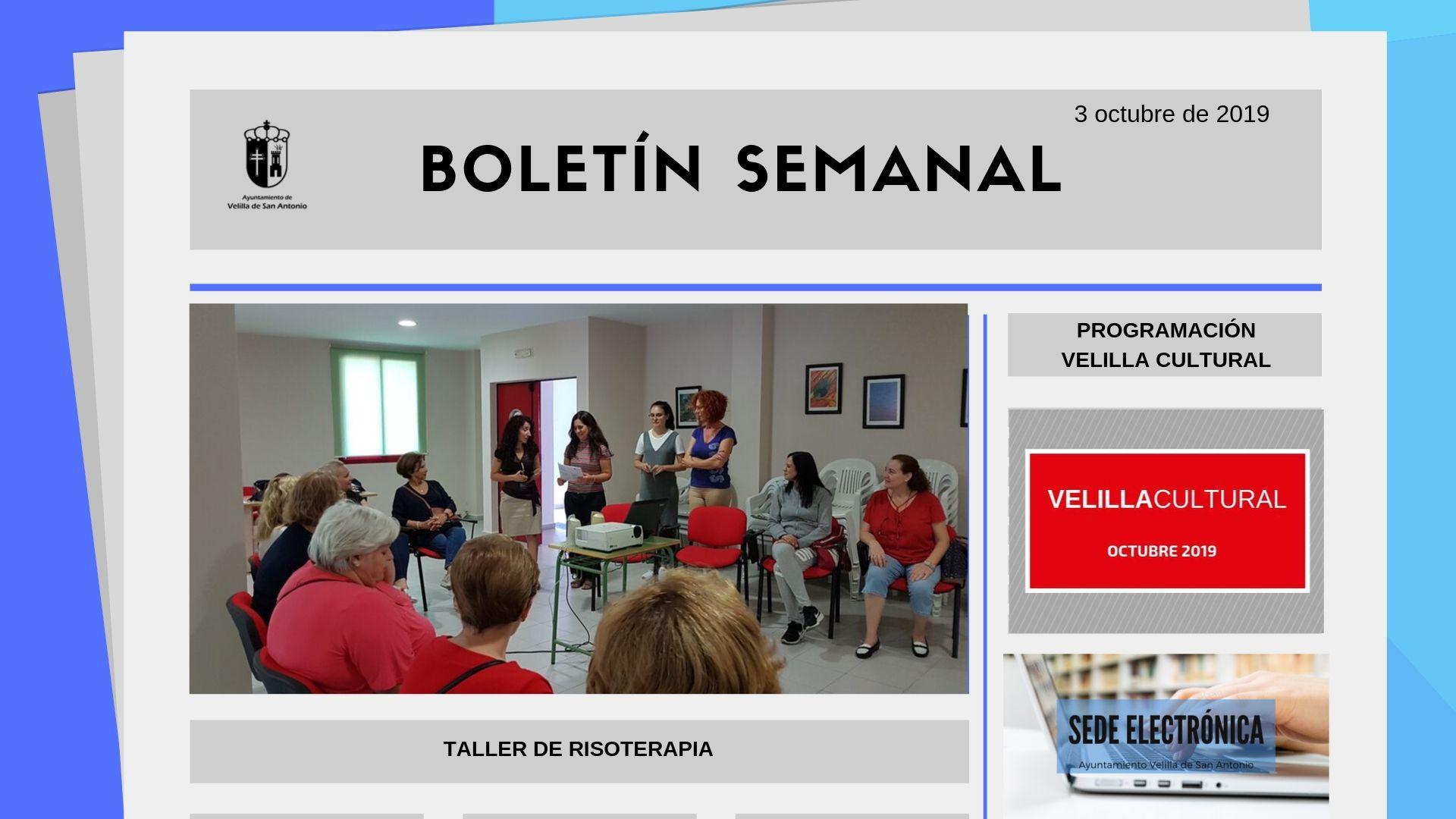 Boletín Semanal 32/2019