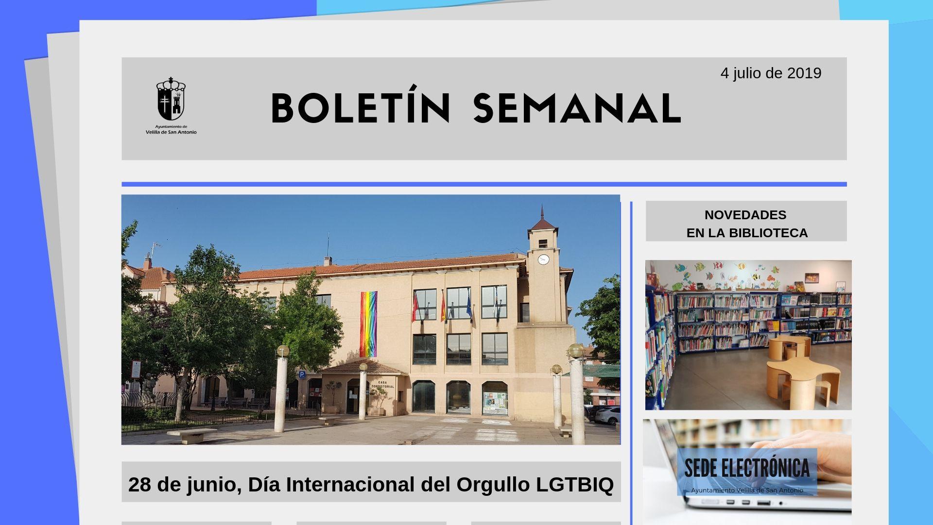 Boletín Semanal 23/2019