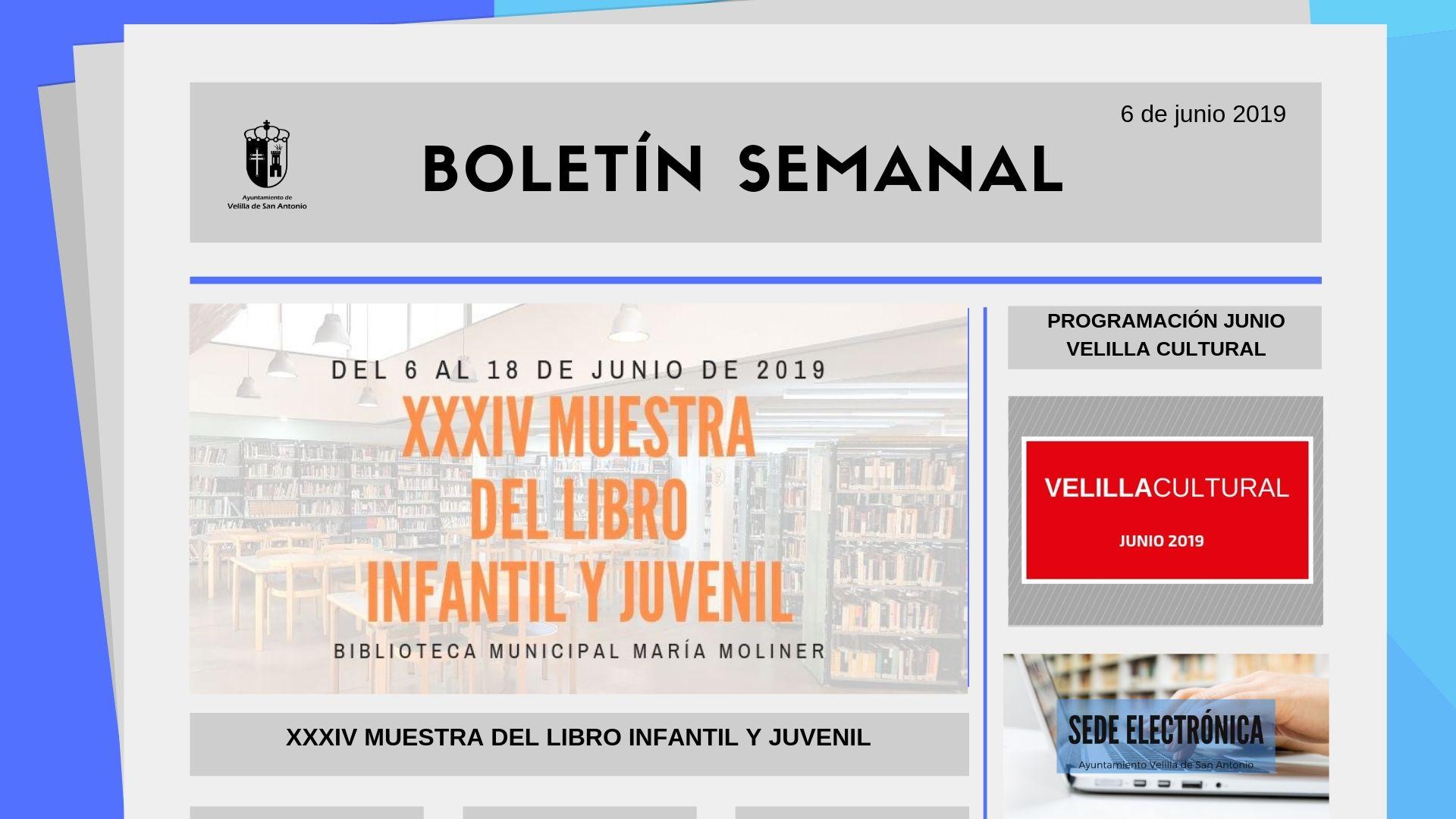Boletín Semanal 19/2019