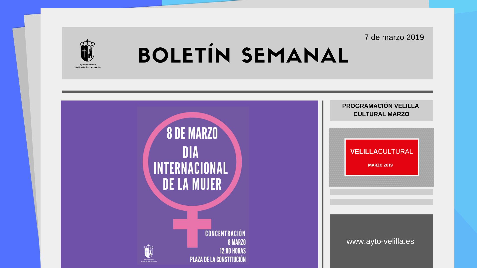 Boletín Semanal 08/2019