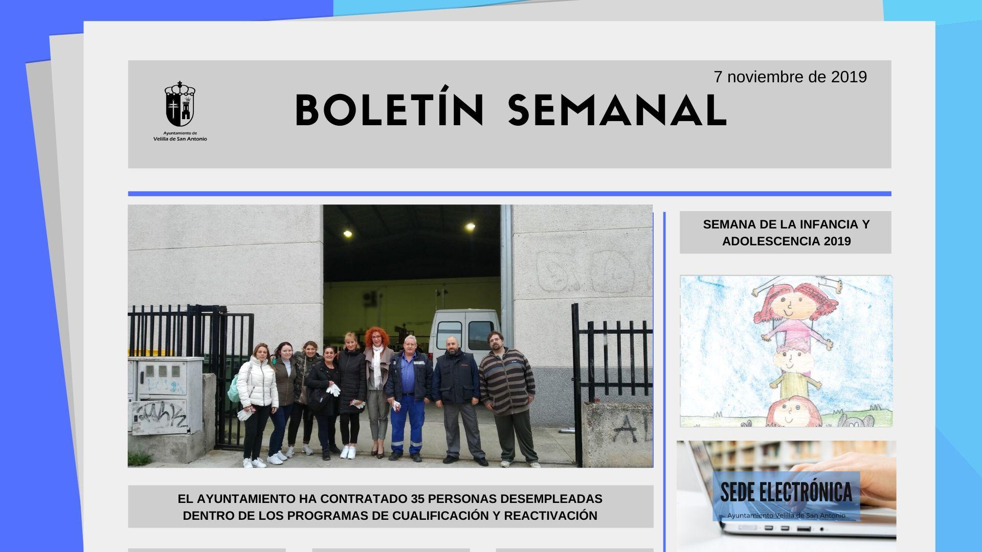 Boletín Semanal 36/2019