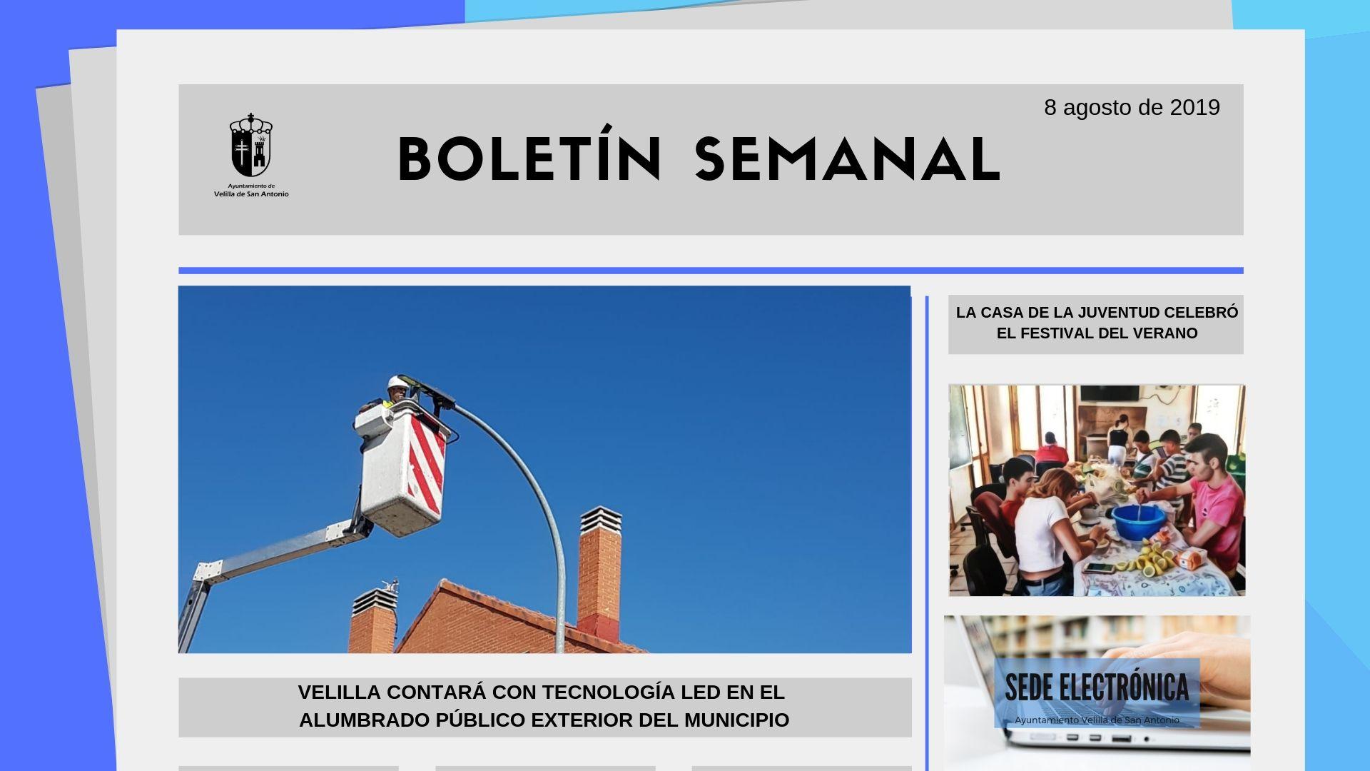 Boletín Semanal 27/2019