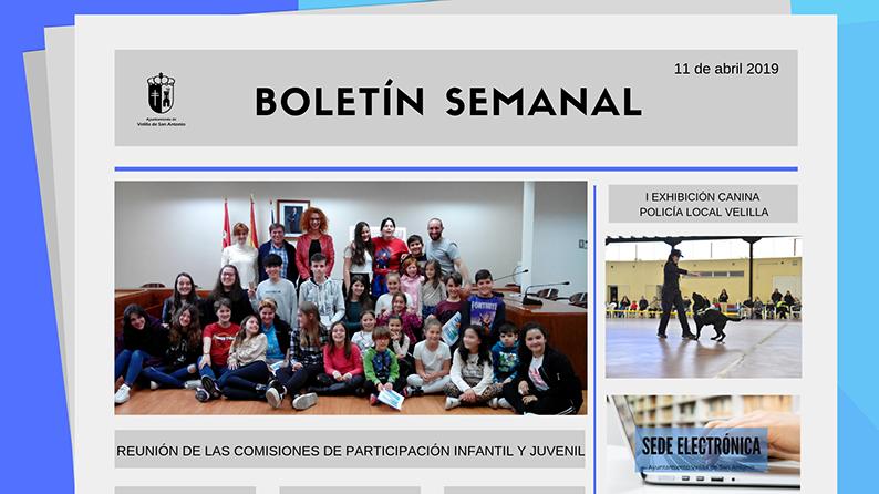 Boletín Semanal 13/2019