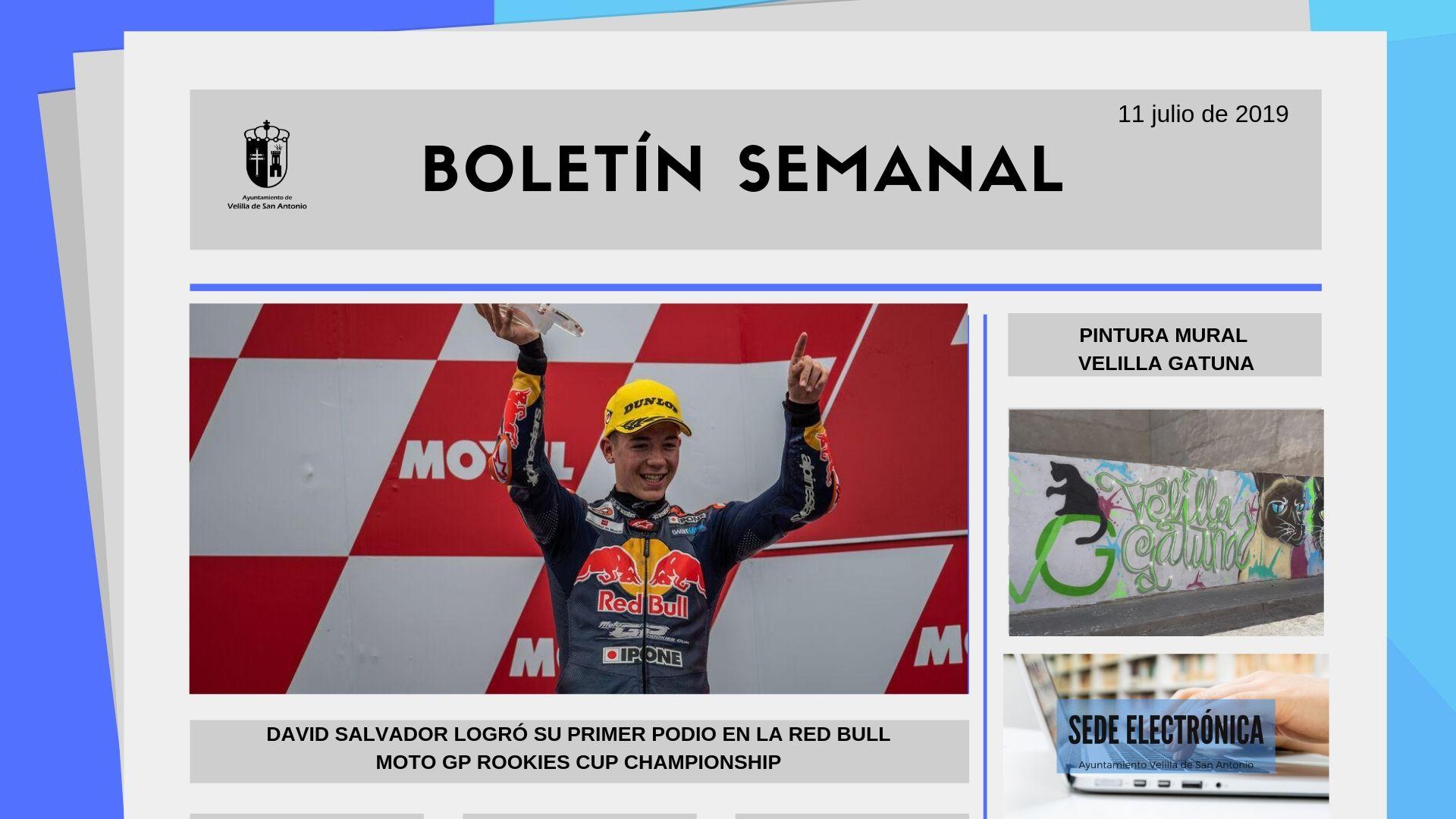 Boletín Semanal 24/2019