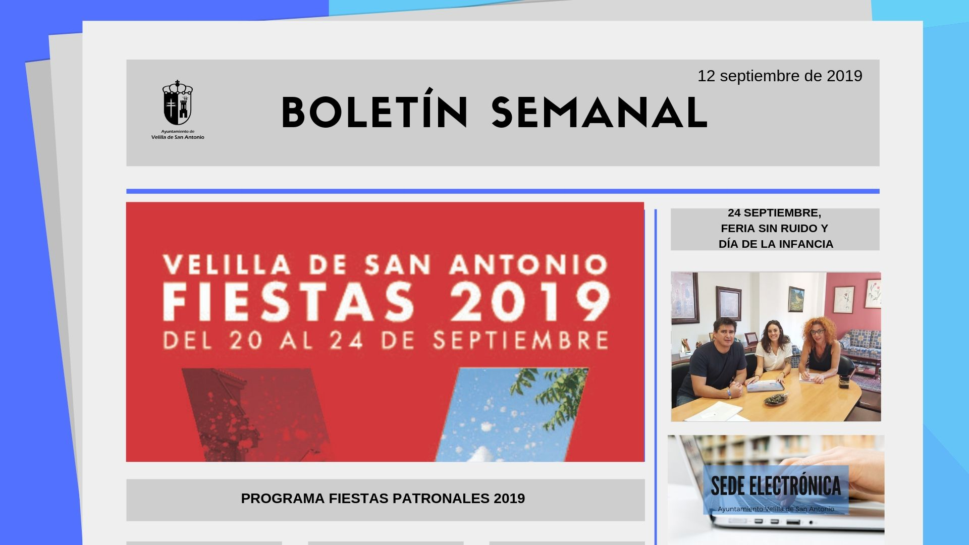 Boletín Semanal 29/2019